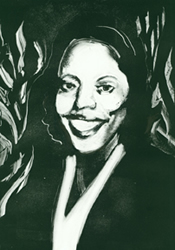 monotype of Mary Lou Williams