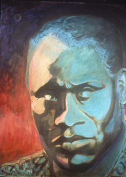 Painting of Paul Robeson as Othello