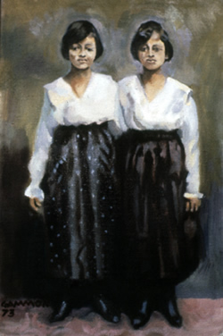 Painting of Twins